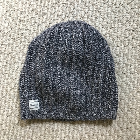 Hats Winter Apparel Knit Hat Gray & White Stripe Cuffed Hat One Size Fits All Nwt Kids' Clothing, Shoes & Accs